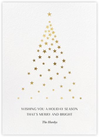Starry Tree - White - Paperless Post