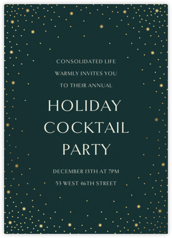 Modest Dazzle - Douglas - Paperless Post - Company holiday party
