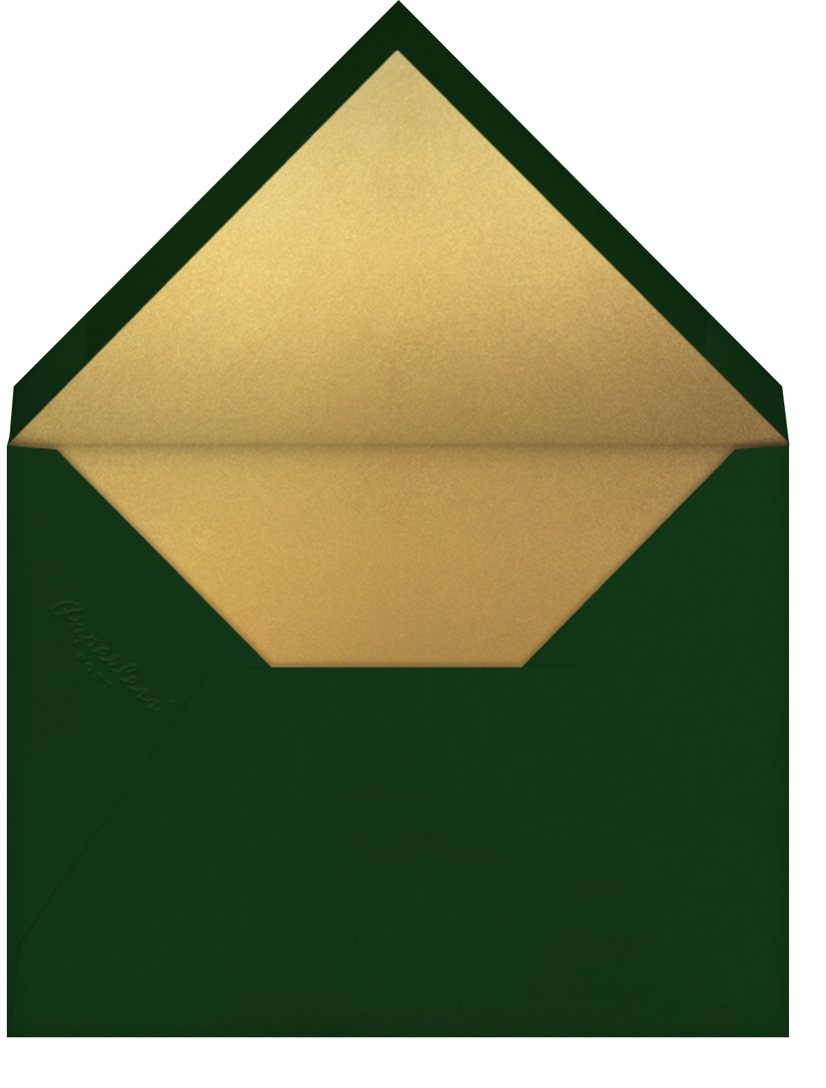 It's Raining Gifts - Paperless Post - Christmas party - envelope back
