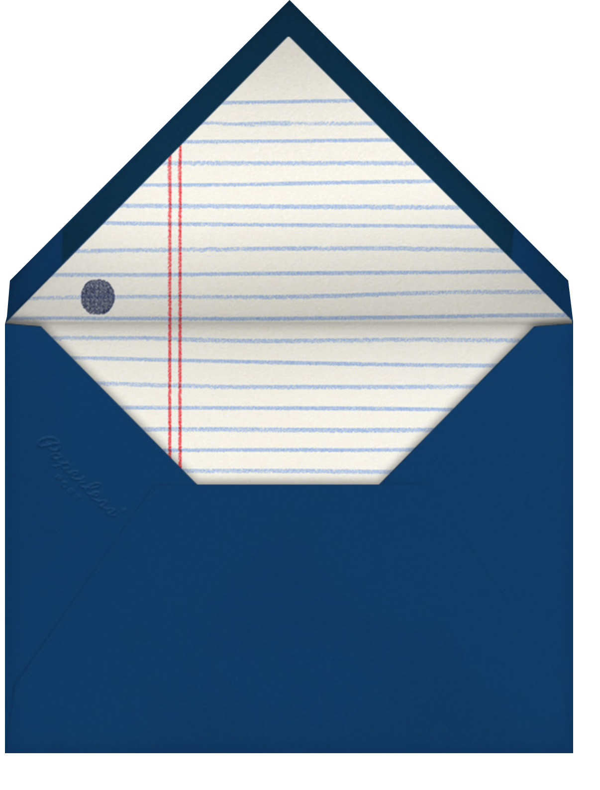 Office Tree - Paperless Post - Holiday party - envelope back
