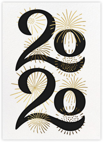 A Sparkling New Year - Paperless Post - Professional party invitations and cards