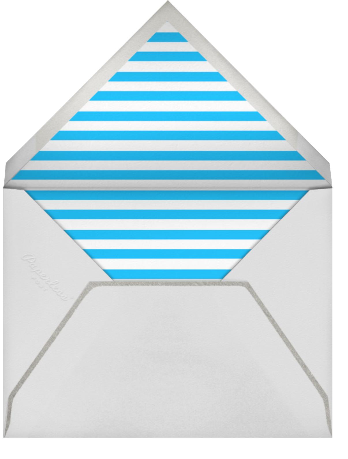Retrospective - Blue - Paperless Post - Envelope