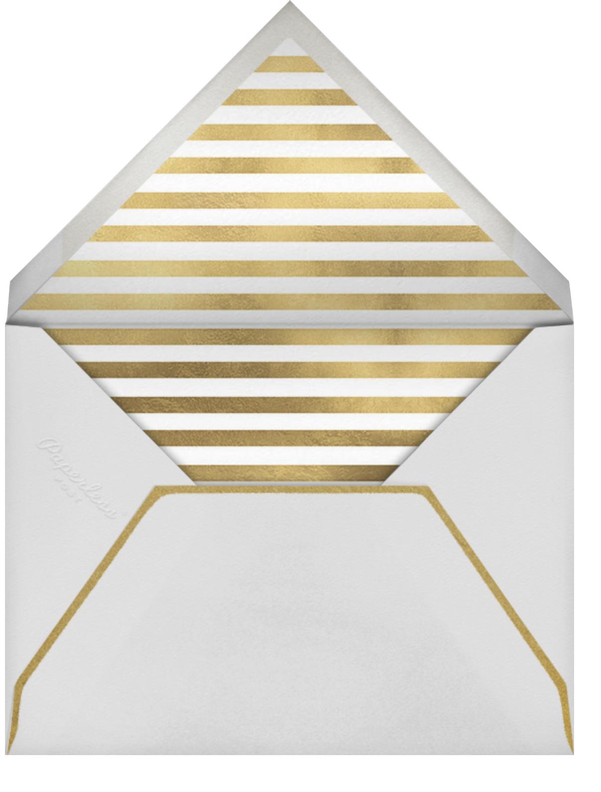 Retrospective - Gold - Paperless Post - Holiday cards - envelope back