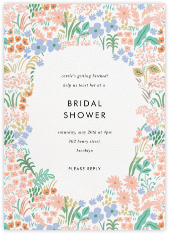 Pastel Meadow - Rifle Paper Co. - Bridal shower invitations