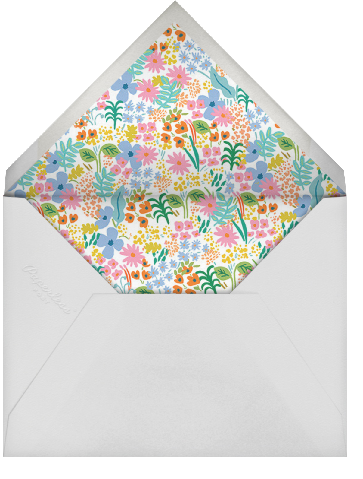 Bright Meadow - Rifle Paper Co. - Save the date - envelope back