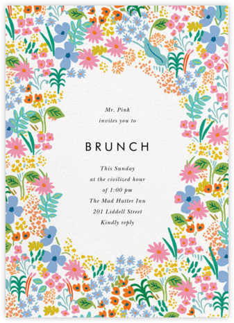 Spring Meadow  - Rifle Paper Co. - Brunch invitations