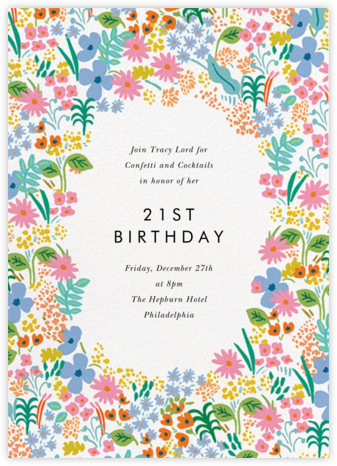 Spring Meadow - Rifle Paper Co. - Rifle Paper Co. Invitations