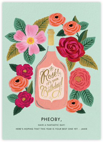 Rosé It's Your Birthday - Rifle Paper Co. -