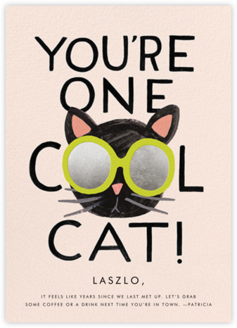 Cool Cat - Rifle Paper Co. - Just Because Cards
