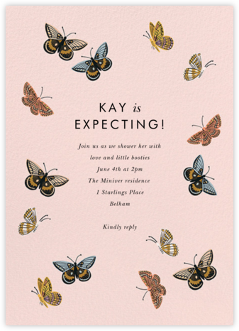 Monarch Birthday - Rifle Paper Co. - Woodland Baby Shower Invitations
