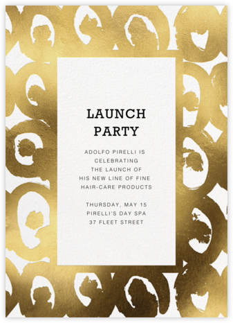 Kissapöllö - White - Marimekko - Launch Party Invitations
