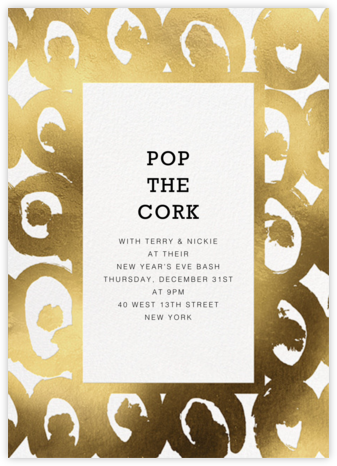 Kissapöllö - White - Marimekko - New Year's Eve Invitations