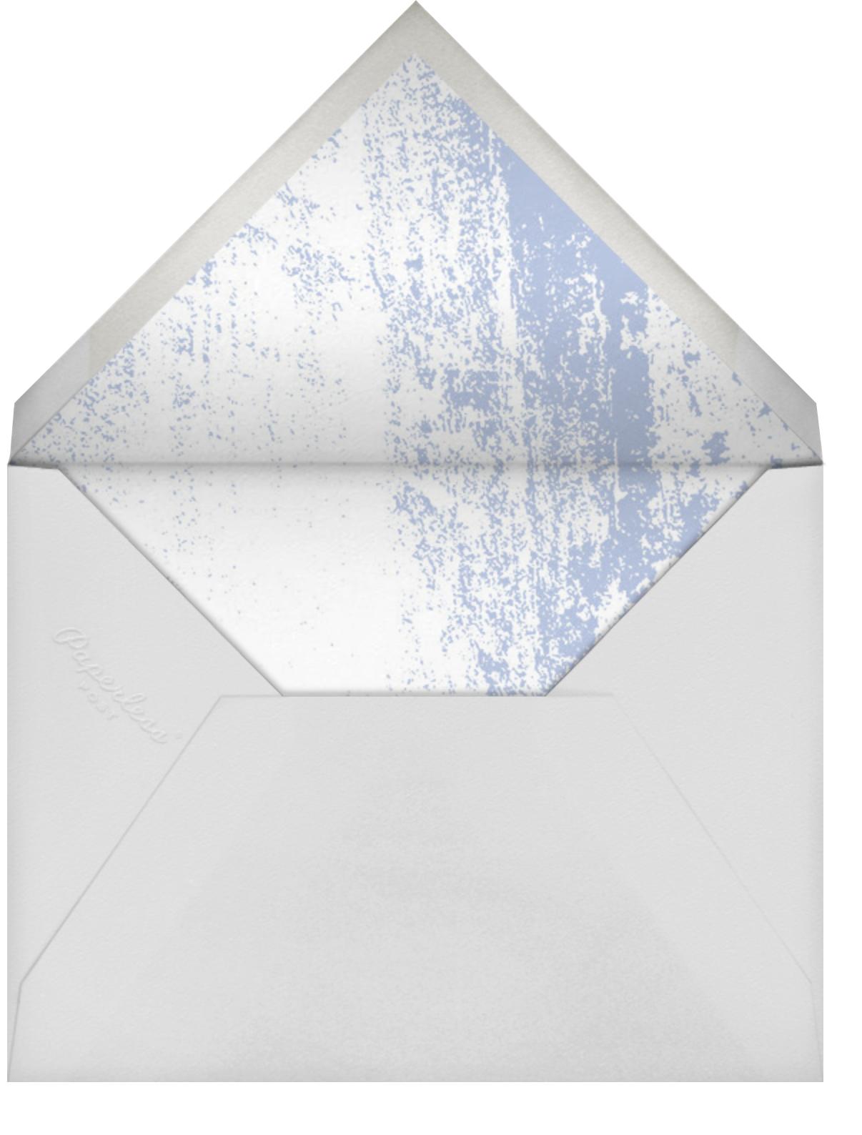 Aglow Stripe - Kelly Wearstler - Bridal shower - envelope back