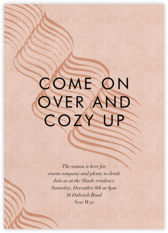 Whisp - Kelly Wearstler - Holiday party invitations