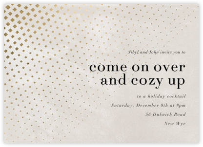Kinetic Flow - Kelly Wearstler - Winter Party Invitations