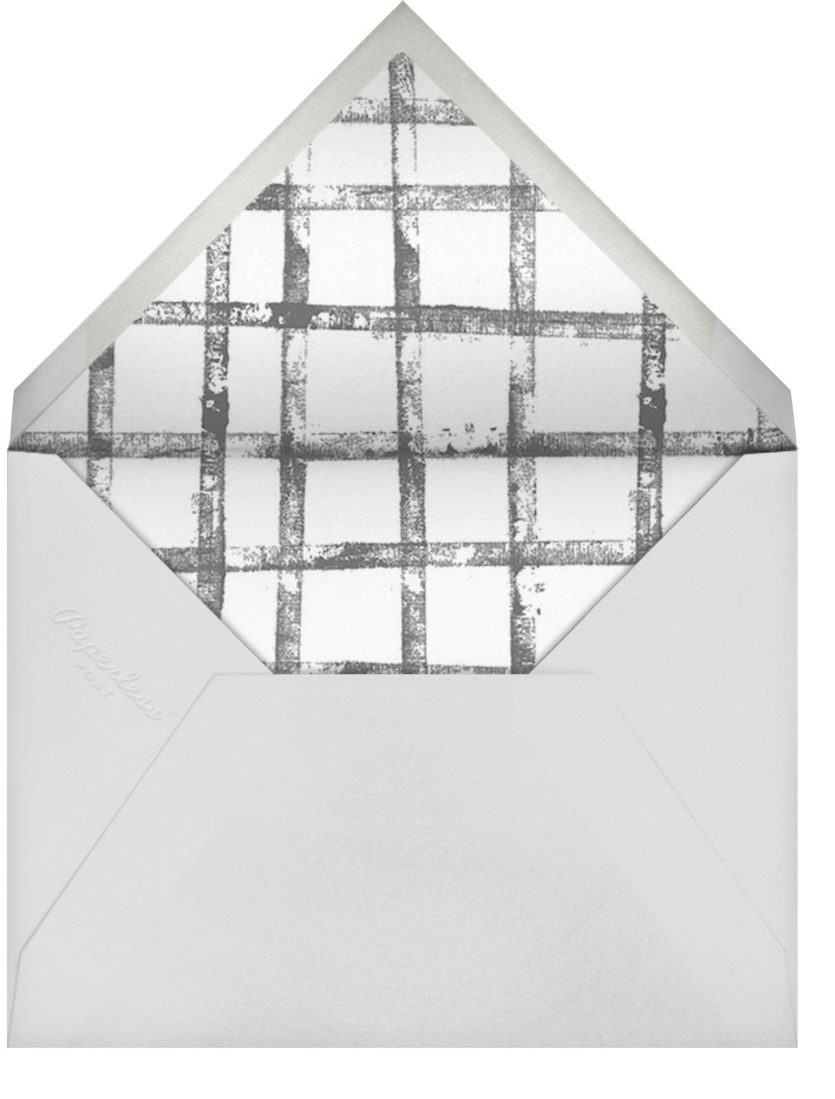 Muse  - Kelly Wearstler - New Year's Eve - envelope back