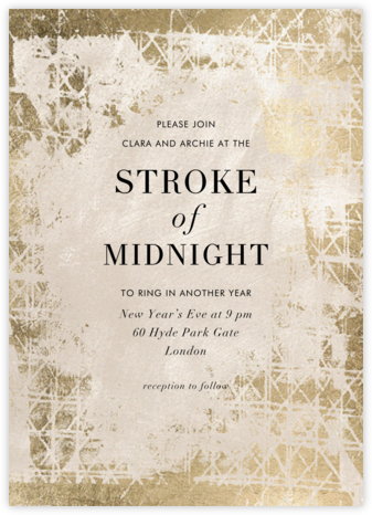 Muse  - Kelly Wearstler - New Year's Eve Invitations
