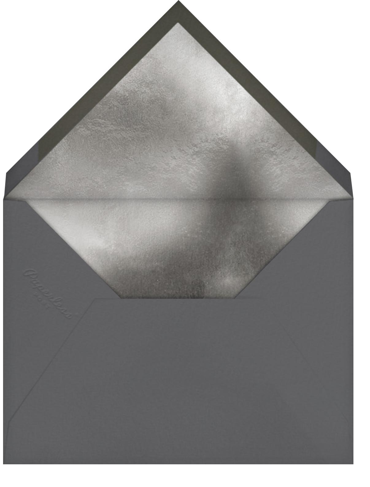 2021 Vision - Douglas - Paperless Post - New Year - envelope back
