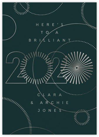2020 Vision - Douglas - Paperless Post - New Year cards