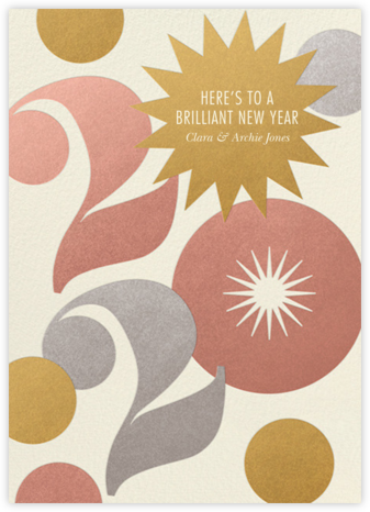 Star Confetti - Paperless Post - Holiday cards