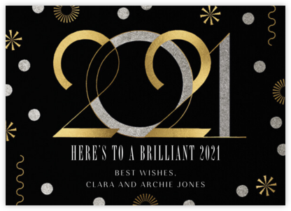 Deco New Year's - Paperless Post