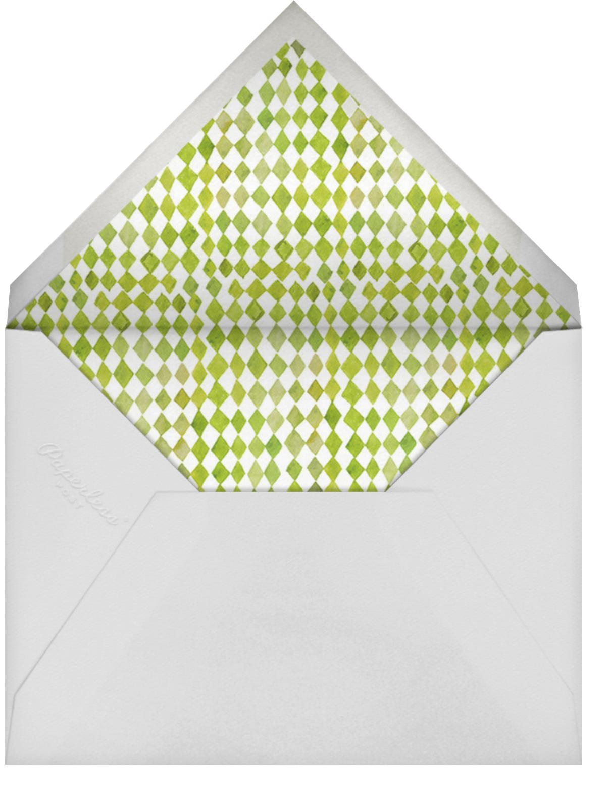 Beetle Bash - White - Happy Menocal - General entertaining - envelope back
