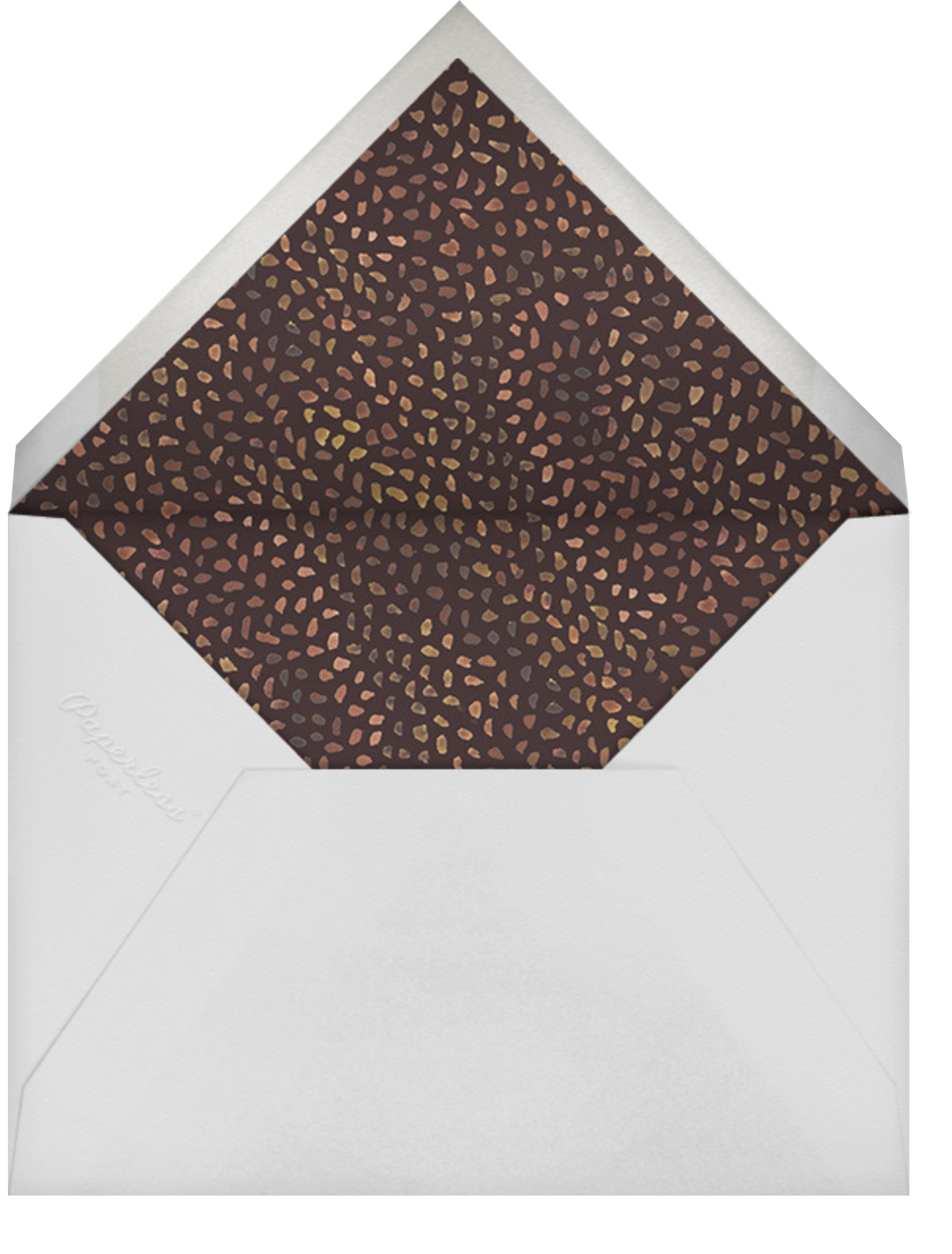 Fall Harvest - Happy Menocal - Winter entertaining - envelope back
