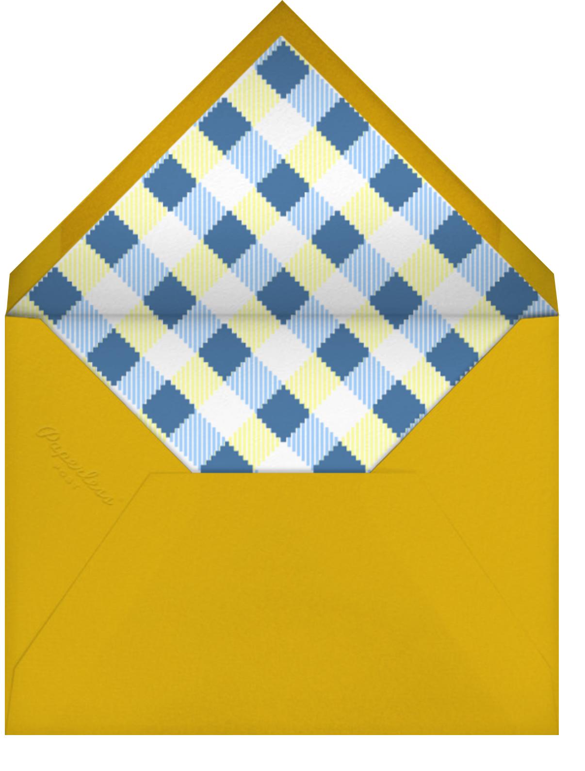 Challahdays - White - Paperless Post - Hanukkah - envelope back