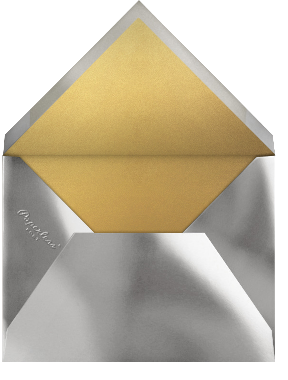 Star Confetti - Paperless Post - New Year's Eve - envelope back