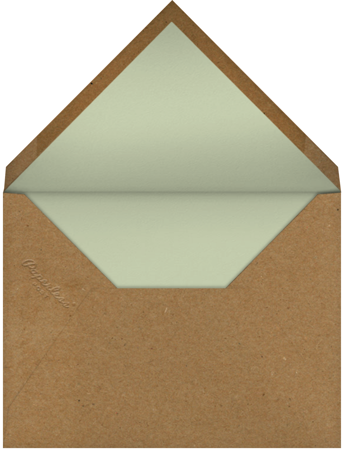 Cortile - Venamour - Valentine's Day - envelope back
