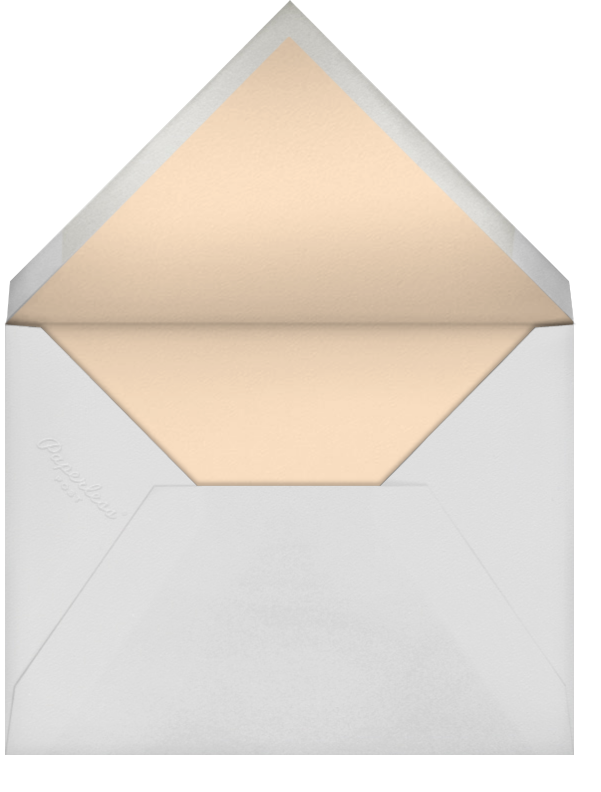 Happy Hearts - Bellini - Sugar Paper - Sip and see - envelope back