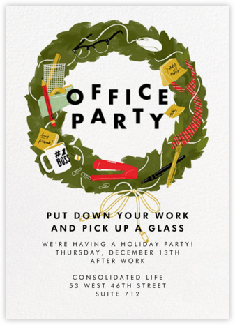From Desk 'Til Dawn - Paperless Post - Company holiday party