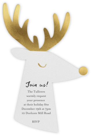 Golden Reindeer - Meri Meri -