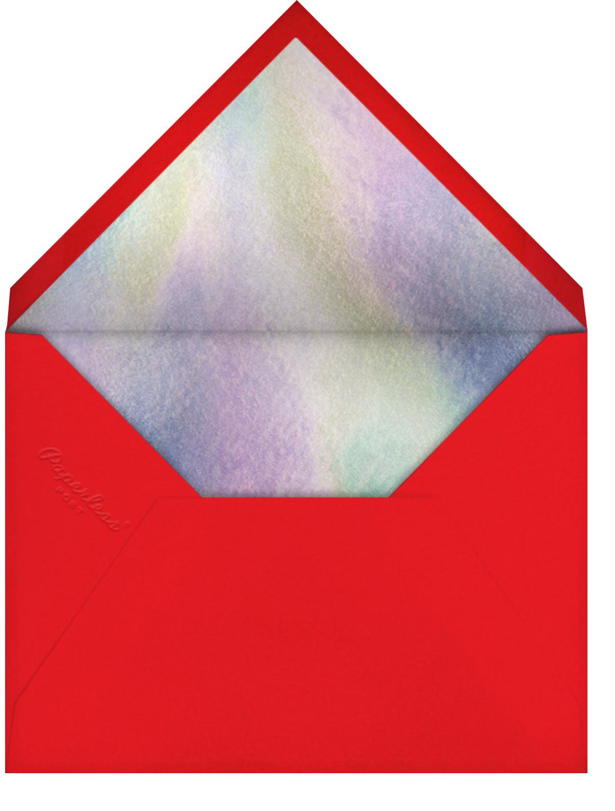 Sweet Holiday - Meri Meri - Holiday cards - envelope back
