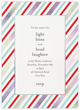 Iridescent Wrap - Meri Meri - Holiday invitations