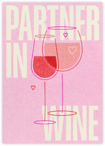 Partner in Wine - Paperless Post -