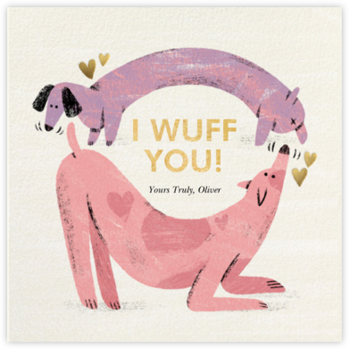 Crazy Fur You - Paperless Post - Valentine's Day Cards