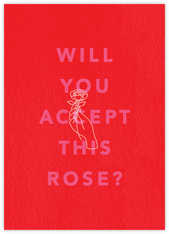 Most Dramatic Rose Ceremony - Paperless Post - Valentine's Day Cards