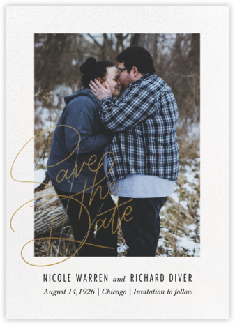 Infinite Love - Paperless Post - Photo save the dates
