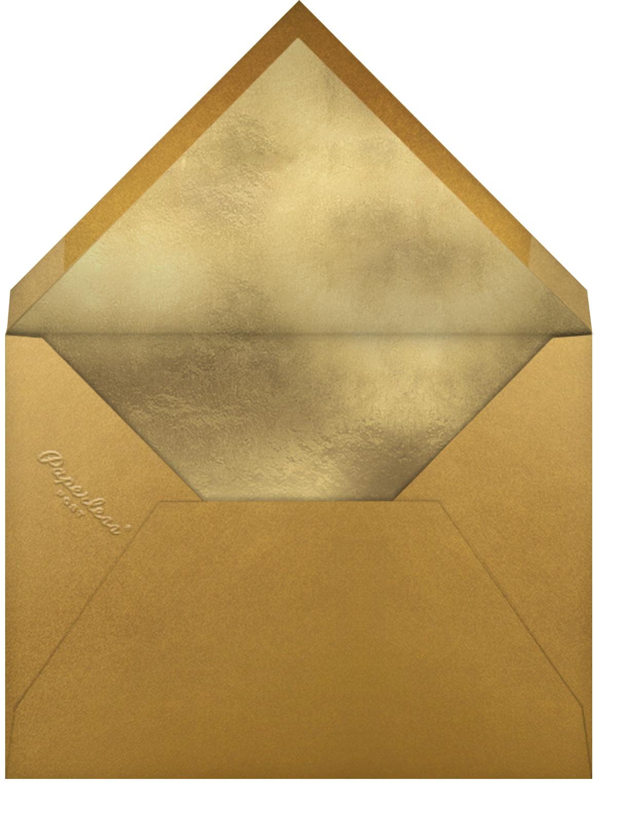Paper Lantern (Invitation) - Paperless Post - Lunar New Year - envelope back