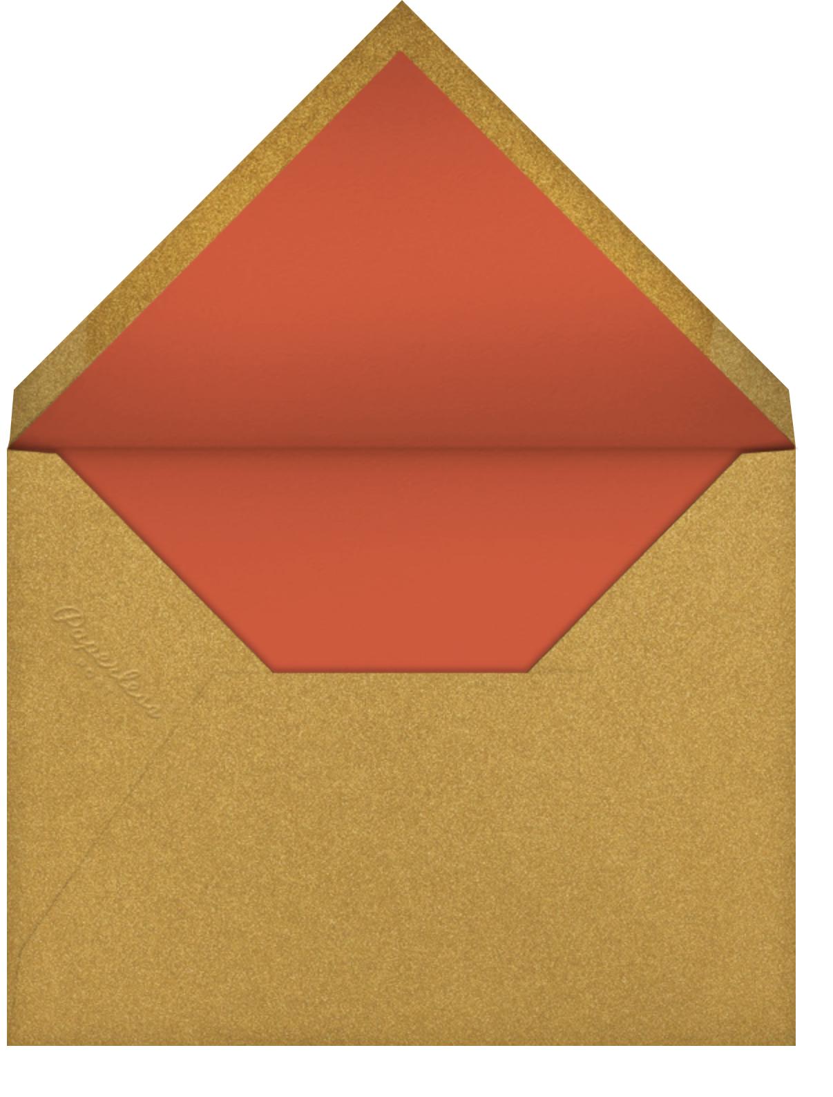 Cherry Blossom Ox (Greeting) - Paperless Post - Envelope