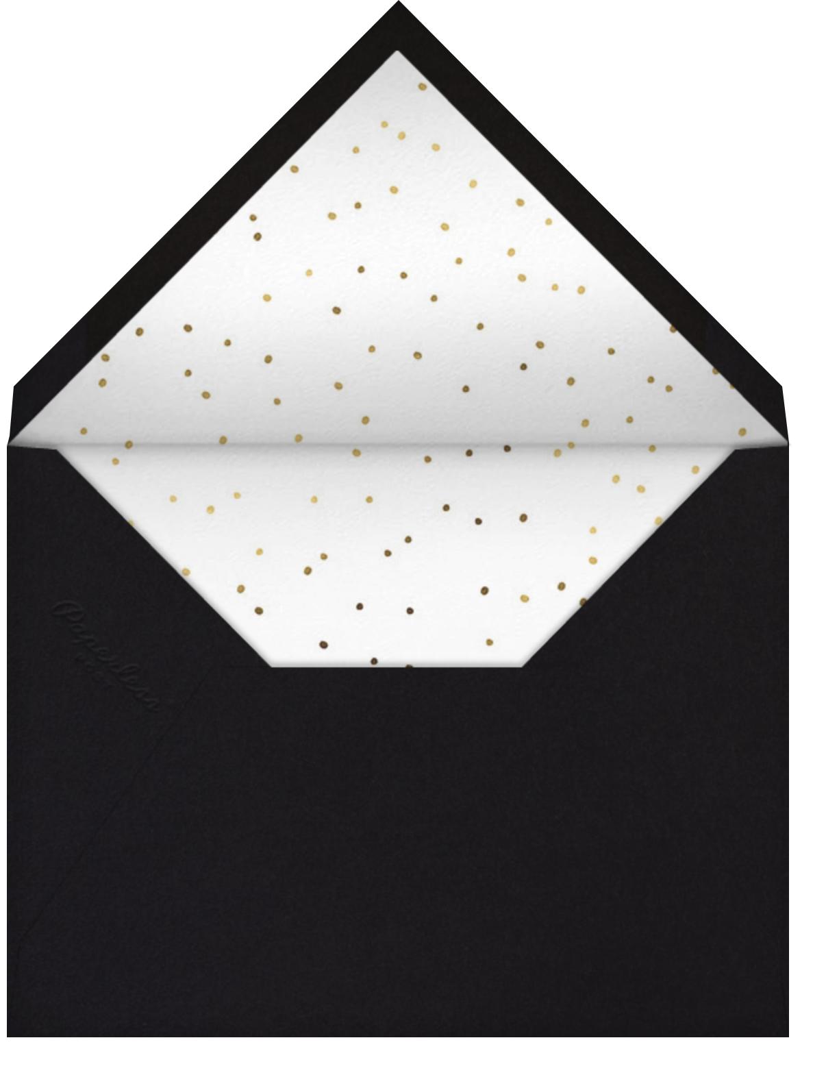 Uncorked - Mr. Boddington's Studio - Winter parties - envelope back