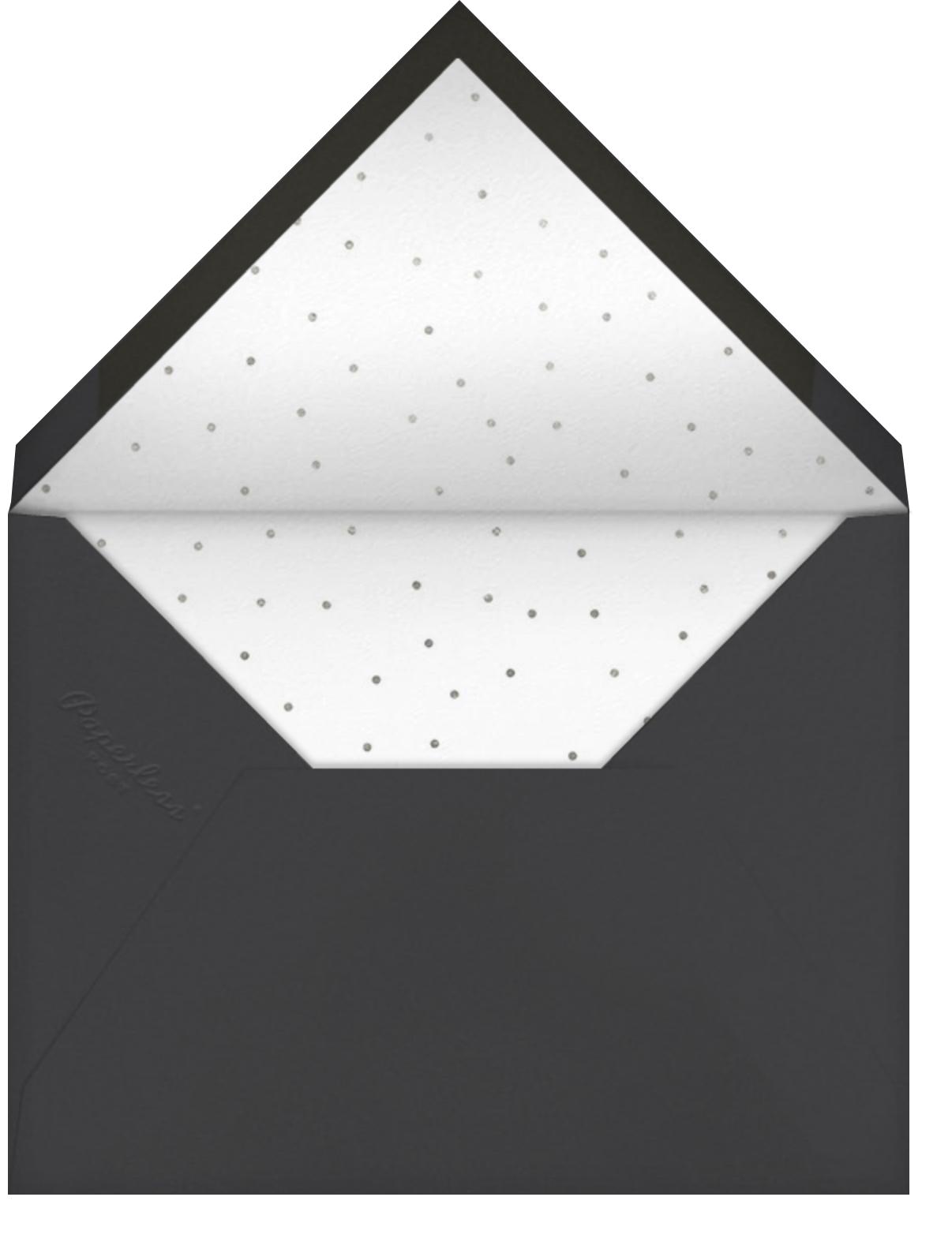 Winding Glitter - Slate - Paperless Post - General entertaining - envelope back