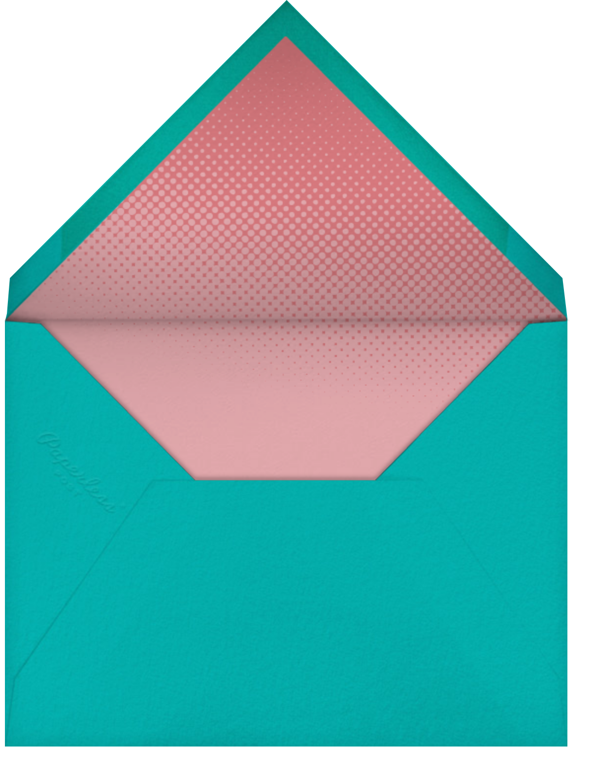 Quilt Block - Paperless Post - Ticketed events - envelope back