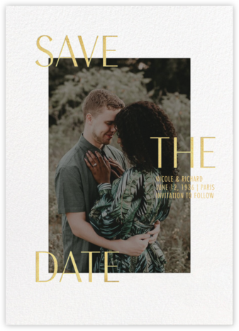 Devoted - Paperless Post - Photo save the dates