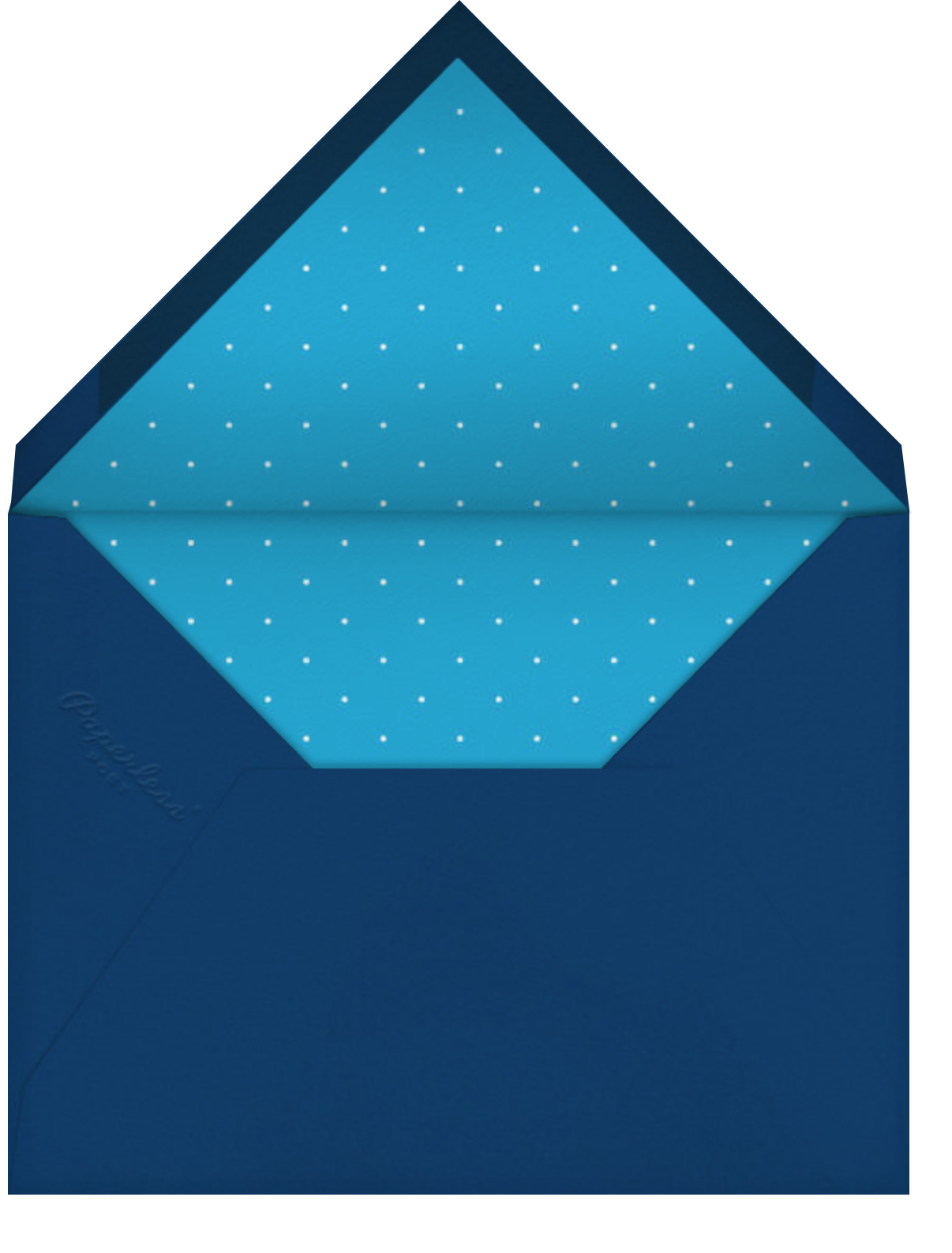 Florianopolis - Blue - Paperless Post - Ticketed events - envelope back