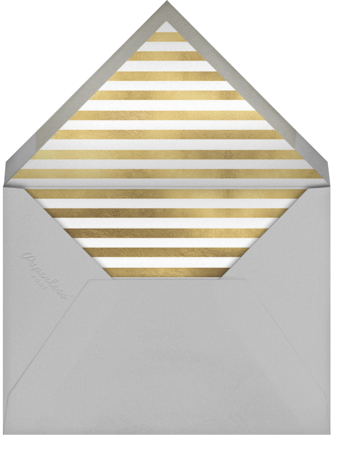 Underscore (Photo) - Gold - Paperless Post - Ticketed events - envelope back