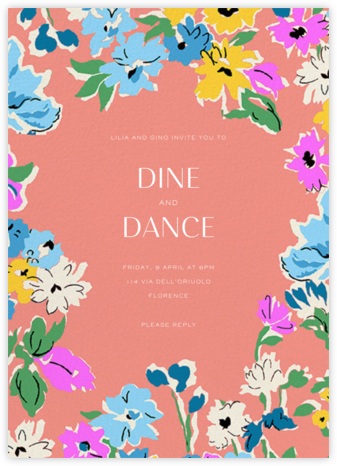 Esme - Liberty - Summer Party Invitations