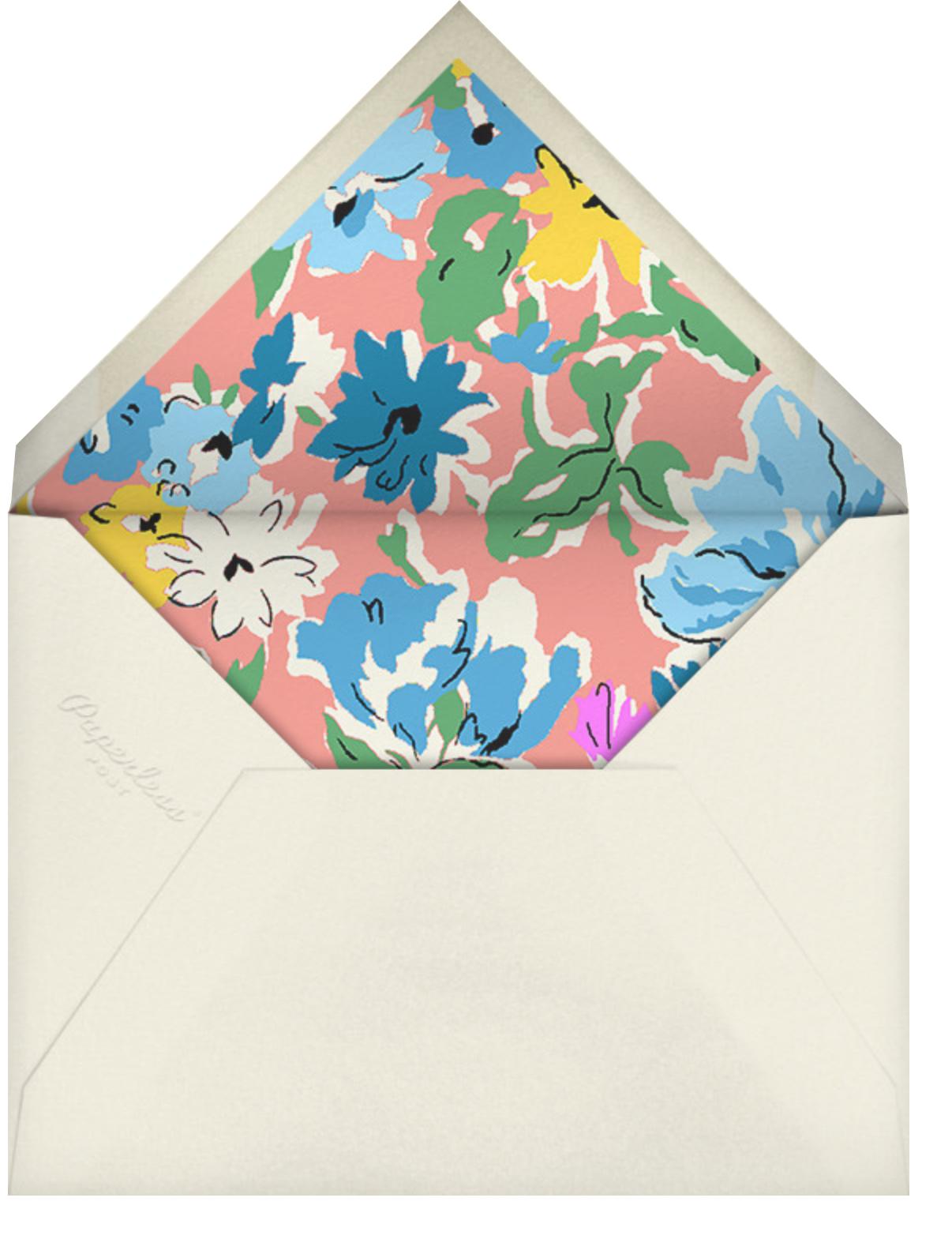 Esme - Liberty - Spring entertaining - envelope back