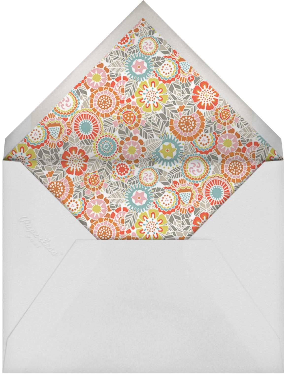 Amelia - Liberty - Adult birthday - envelope back